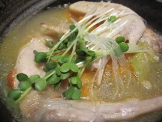 鶏の手羽先のスープ